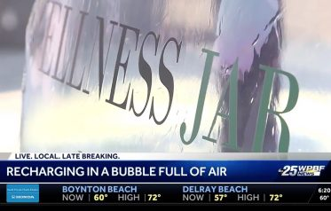 Pure air bubble may help relieve allergies